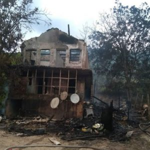 Две деца загинаха при пожар във вилна зона край Шумен
