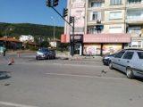Катастрофа на кръстовище след отнето предимство