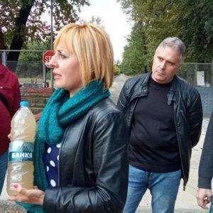 """Мая Манолова открива офис на """"Изправи се.БГ"""" в Нови пазар"""
