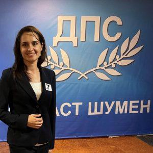 Мукадес Шакир, ДПС: Със силата на младостта и знанията да направим най-доброто за България!
