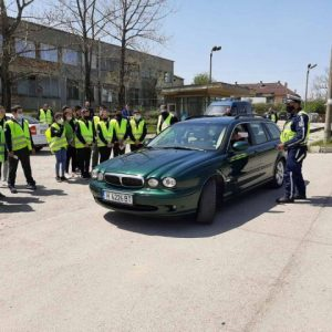 Открит урок по безопасност на движението за деца от Смядово