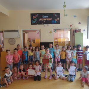 "РИОСВ-Шумен проведе образователни еко уроци в детска градина ""Космонавт"""