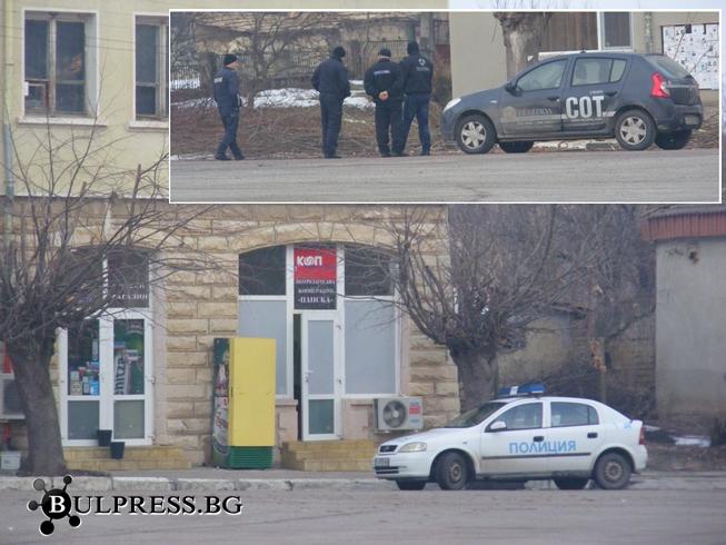 Разбиха магазин в град Плиска