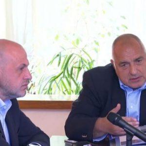 Бойко Борисов: Трифонов е политически страхливец!