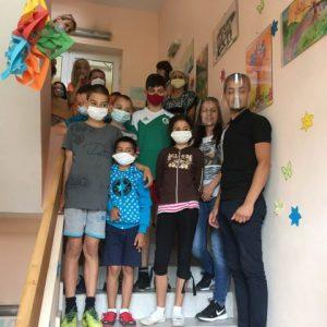Детски рисунки украсиха Комплекса за социални услуги в Шумен