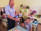 """Директорът на ОДМВР- Шумен на гости в СУ """"Панайот Волов"""""""