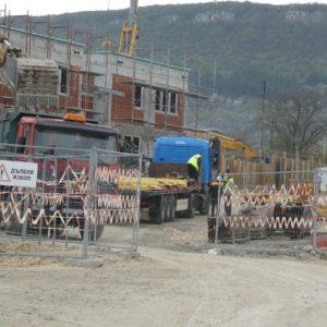 """Кметът Любомир Христов инспектира строителството на Пречиствателната станция в """"Дивдядово"""""""