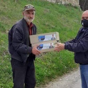 Лично дарение за жителите на община Върбица направи кметът Мердин Байрям