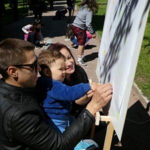 С игри и песни в Шумен посрещнаха Деня на детето (снимки)