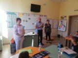 Ст. комисар Ялчън Расим гостува на малчугани в шуменско училище